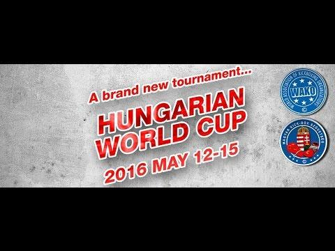 Hungarian Kickboxing World Cup 2016 Day 3