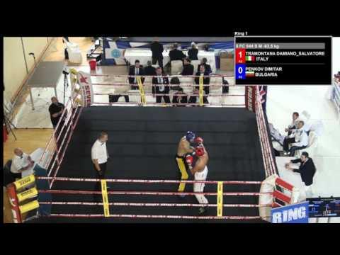 Hristov Hristo V Mukremin Guler WAKO European Championships 2016