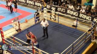 Bestfighter 2016 -Final - K1 Women Sen -56kg, Martiukhina Nataliia (UKR) vs Godzina Dorota (POL)