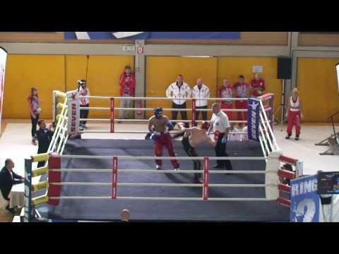 Steffen Lueer V Izzet Arabaci WAKO European Championships 2016