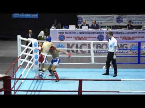 HERASYMENKO SERHII (UKR) Vs SEN SONER (TUR) K1 Final WAKO 2016