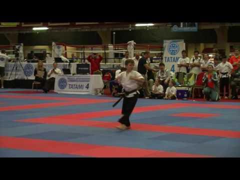 Max Lennon WAKO Junior And Cadet World Championships 2016