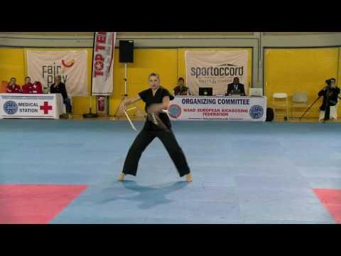 Kristina Skripnichenko WAKO European Championships 2016