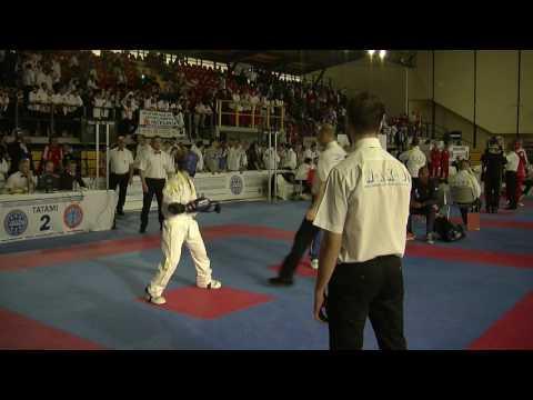 Sharon Gill V Valentina Cabras WAKO European Championships 2016