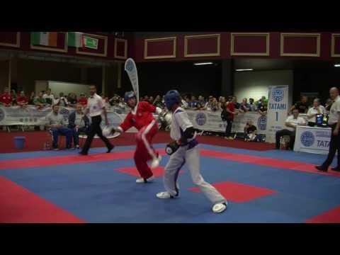 Lukasz Wojtowicz V Yusef Leak WAKO Junior And Cadet World Championships 2016