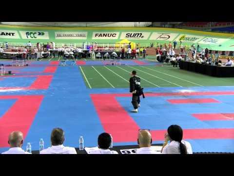 Dale White WAKO European Championships 2015