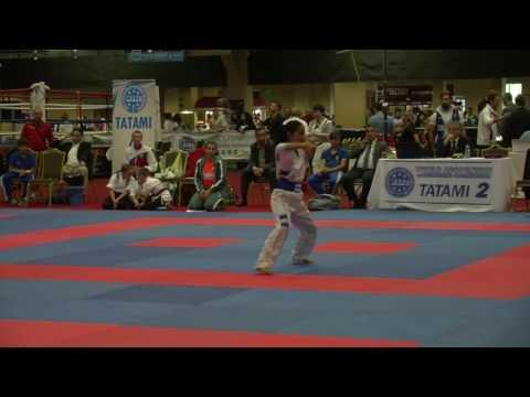 Lucia Alvarado WAKO Junior And Cadet World Championships 2016