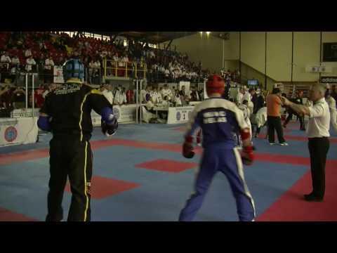 Vasileios Taipliadis V Leonard Ademaj WAKO European Championships 2016