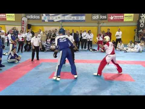 Greece V Switzerand WAKO European Championships 2016