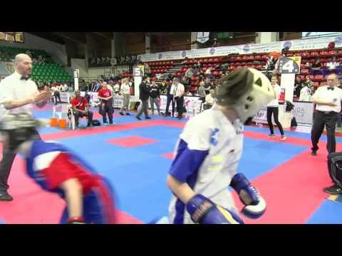 Aston Cook V Dorina Szabo Pointfighting Cup 2016