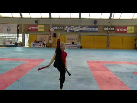 Viktoryia Mikhailava WAKO European Championships 2016