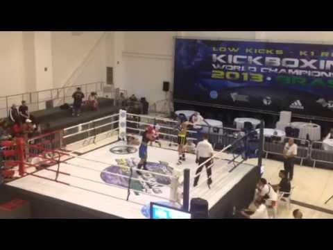 España Vs Brasil -70 Kg Kick Boxing Wako