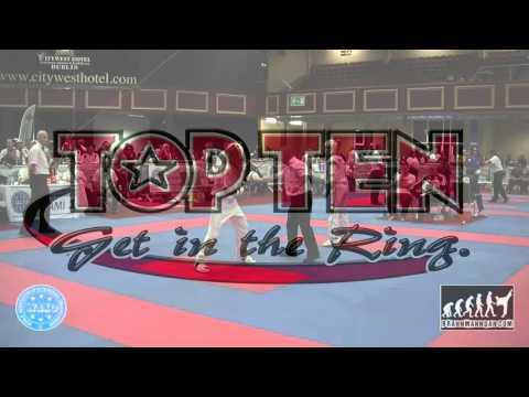 Cintia Sandor HUN V Roberta Cavallaro ITA WAKO World Championships 2015, Dublin
