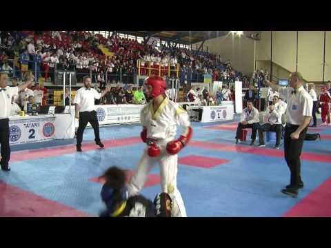 Elena Pantaleo V Keshia Keller WAKO European Championships 2016