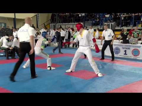 Riccardo Albanese V Jordan White WAKO European Championships 2016