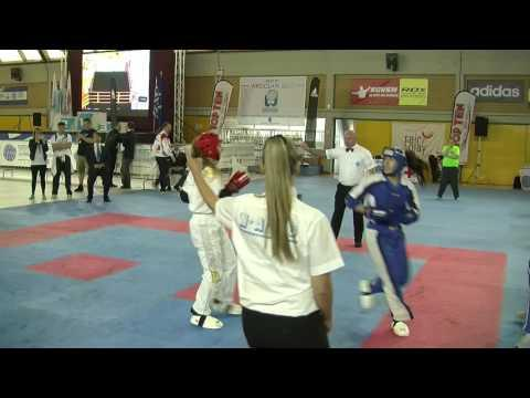 Roberta Cavallaro V Evita Viltanioti WAKO European Championships 2016