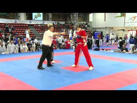 Riccardo Albanesse V Zoltan Balint Pointfighting Cup 2016