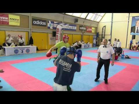 Stefan Stanic V Kiril Petrov WAKO European Championships 2016