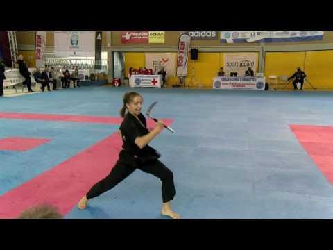 Angelina Kopitova WAKO European Championships 2016