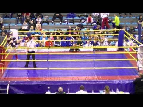 Zuzana Gabova V Anna Poskrebysheva Hungarian Kickboxing World Cup 2016