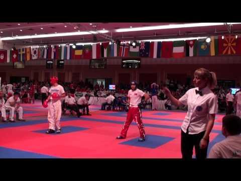 WAKO Kickboxing - WC 2013 - LC -63kg Tramontana(ITA) - Diler(TUR)