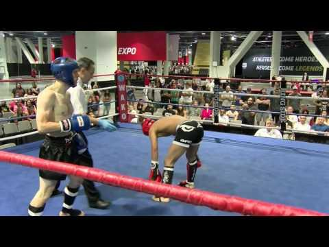 Adam Jensen V David Martinez Aleves WAKO North American Open 2016