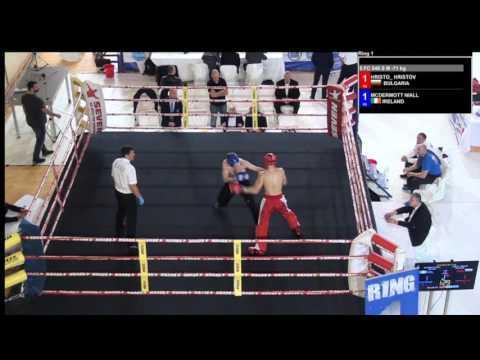 Hristov Hristo V Niall McDermott WAKO European Championships 2016