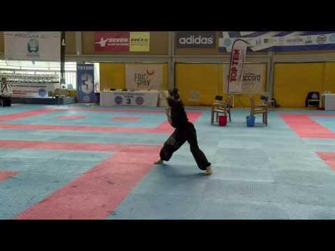 Anna Samygina WAKO European Championships 2016