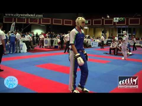 Peter Csikos HUN V Erik Zorn SLO WAKO World Championships 2015