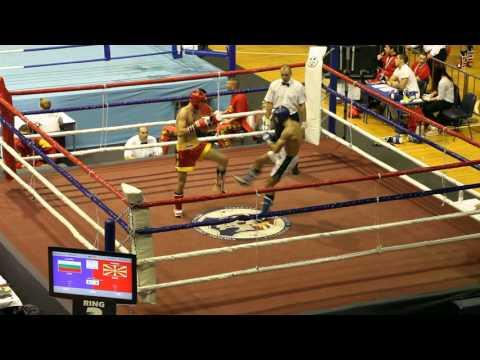 Venelin Ankov(bul) Vs Boban Ilovski(MAK) 1/8 Final Wako World Championship