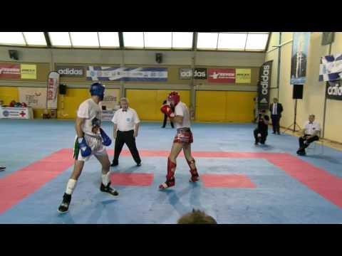 Mirac Gencebay V Emanuil Dimitrov WAKO European Championships 2016