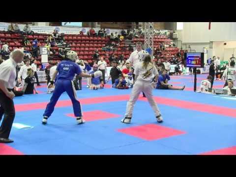 Evita Viltanioti V Roberta Cavallaro Pointfighting Cup 2016