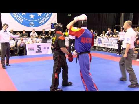 CSKA Moscow V Top Ten Germany Hungarian Kickboxing World Cup 2016