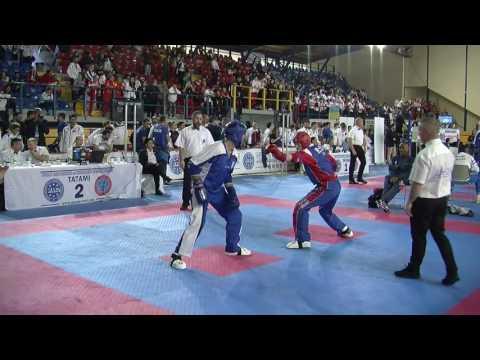 Ian Carter V Vasileios Taipliadis WAKO European Championships 2016