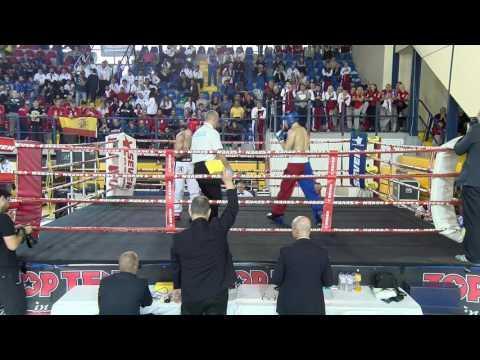 Carlos Manuel Carrasco Montero V Kayrat Nurmaganbetov WAKO European Championships 2016