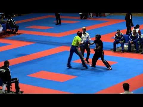 WAKO Kickboxing - EC 2014 - LC -63kg Hristov(BUL) - Kugl(SLO)