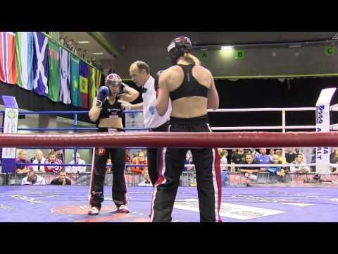 Elisabeth Rebnord V Nicole Trimmel Hungarian Kickboxing World Cup 2016