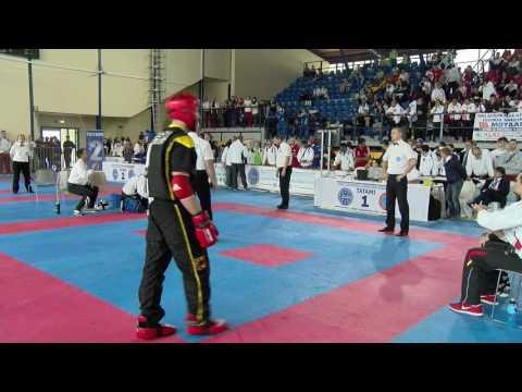 Anatoli Kuschnir V Paolo Niceforo WAKO European Championships 2016