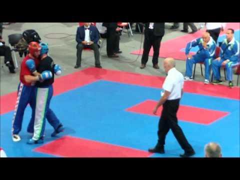 WAKO World Championship 2011 Skopje Final Fight LC M-over 94kg