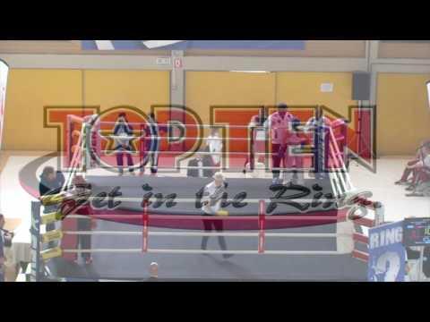 Vasiliki Maria Nikou V Flavia Gasperini WAKO European Championships 2016