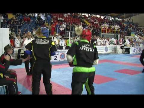 Joanne Deegan V Isabel Gadow WAKO European Championships 2016