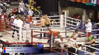 Hungarian World Cup 2016 - Final - LK Sen Male -81kg, PAIC IGOR [MDA] vs Paczuski Radosław [POL]