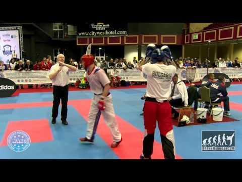 Alexandr Verner RUS V Emanuil Dimitrov BUL WAKO World Championships 2015
