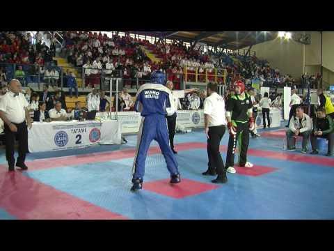 Kevin White V Charilaos Giannakoloulos WAKO European Championships 2016