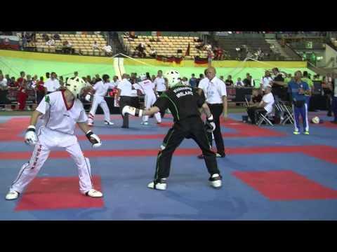 Dale White V Jeno Rohonczi WAKO European Championships 2015