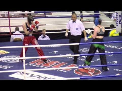 Claire Louise Sweetman V Birgit Reitan Oksnes Hungarian Kickboxing World Cup 2016