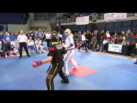 Damiano Capognia V Sasha Graske Athens Challenge 2016
