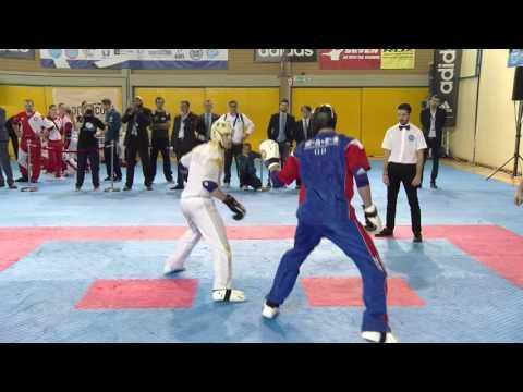 Italy V GB WAKO European Championships 2016