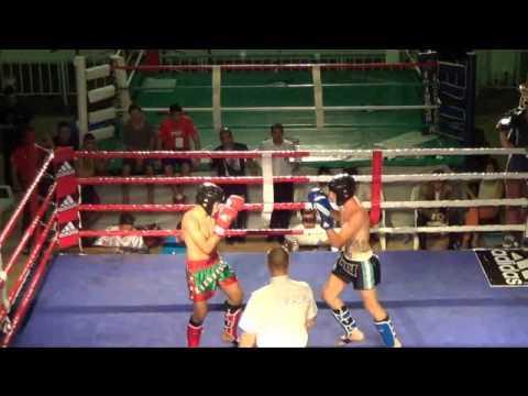 Alan La Pua Sosa (Argentina) Vs (Mexico) Panamericano WAKO 2014
