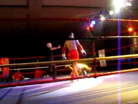 Soufian Zridy Vs Houcine Bennoui Au Championnat Du Monde Muay Thai Wako Pro 66.8kg